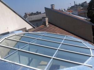 Dach Alu-Glas Argentinerstrasse