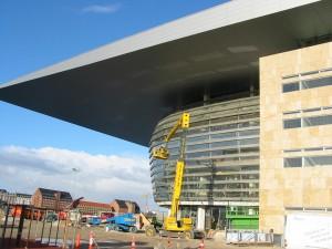 Portale der Oper in Kopenhagen